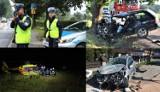 Wypadki i kolizje, czyli 2020 rok na drogach powiatu olkuskiego
