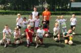 Krotoszyn: Wychowanek Akademii Talentów Igor Orlikowski  zarażał pasją do futbolu młode pokolenie