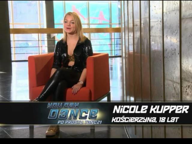 """W programie """"You Can Dance"""" swoich sił spróbowała  Nicole Kupper z Kościerzyny."""