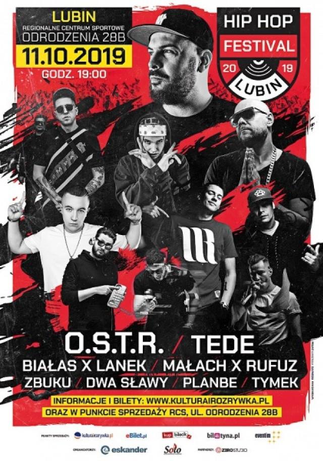 Zapraszamy na Hip-Hop festiwal w Lubinie. Na scenie O.S.T.R., Tede i inni!