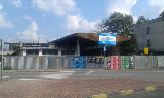 Remont dworca w Ligocie