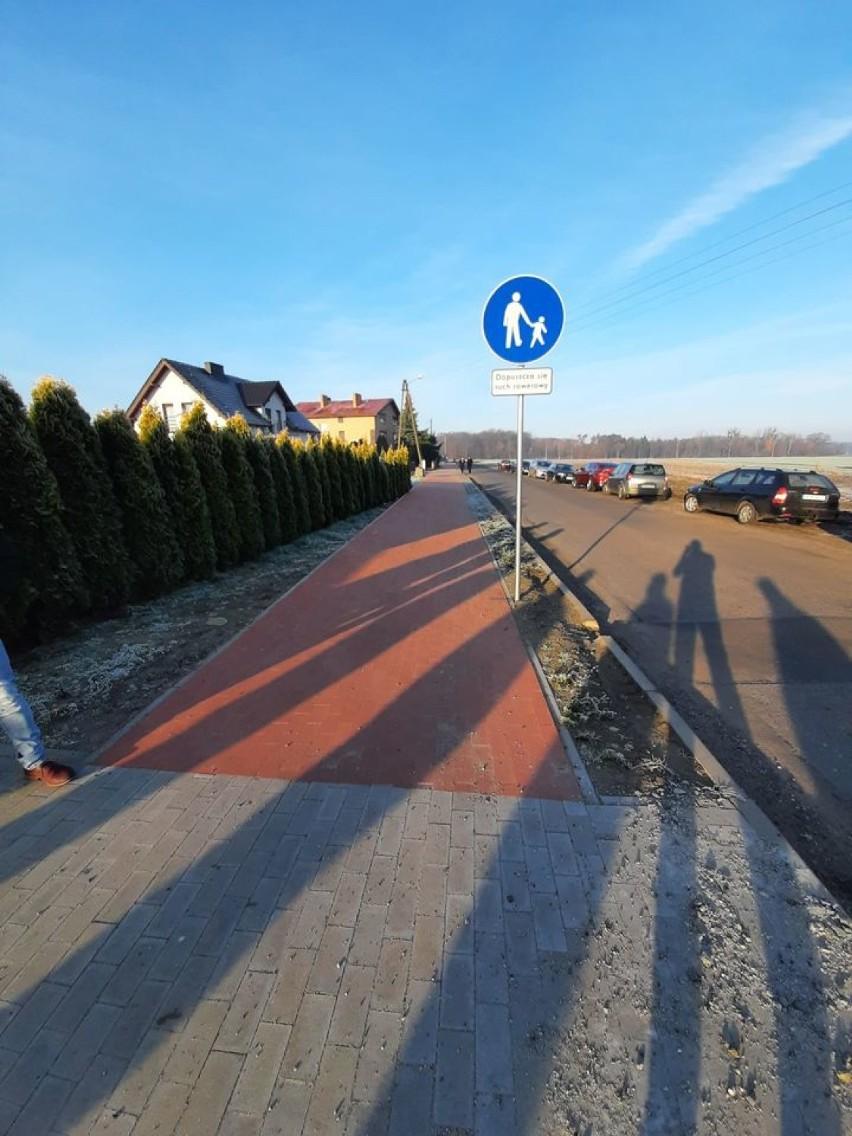 Odbiór techniczny ścieżki pieszo-rowerowej Smolice-Raszewy-Pasierby [ZDJĘCIA]