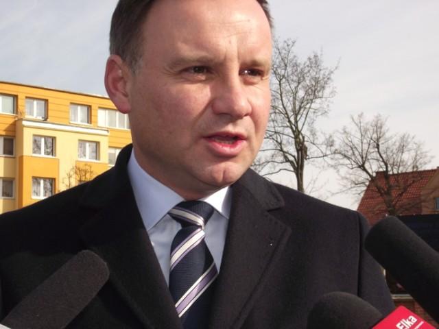 Andrzej Duda: Państwo nie może drenować KGHM