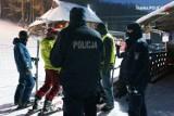 Nalot policji i sanepidu na stację narciarską w powiecie zawierciańskim