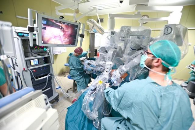 Operacja nowotworu pęcherza moczowego przy użyciu robota Da Vinci