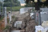 Betonowe ściany rosną w Krośnie Odrzańskim. Wały przeciwpowodziowe coraz bardziej widoczne. Do kiedy potrwa budowa?