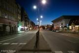 Stargard w sobotni wieczór. Ulice opustoszały [ZDJĘCIA]