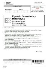 Próbny egzamin ósmoklasisty 2021 matematyka. ARKUSZ CKE i ODPOWIEDZI z testu diagnostycznego 18.03.2021 roku