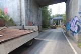 Obwodnica Panewnik została zamknięta. Na łączniku między ulicą Panewnicką i autostradą A4 doszło do awarii magistrali wodociągowej