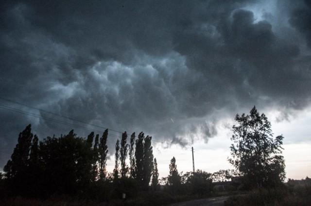 Burza nad Pleszewem ... i po burzy