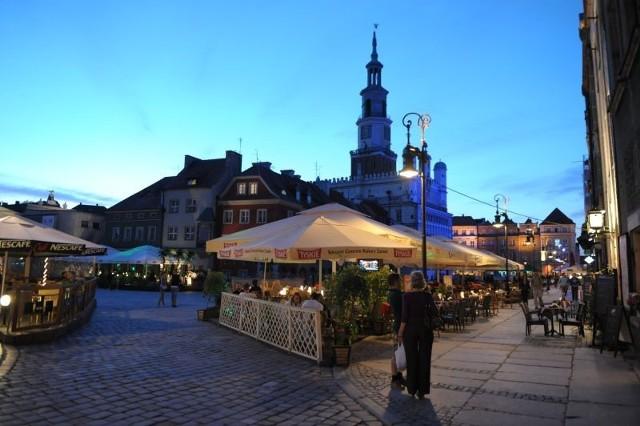 Ceny za zajęcie terenu pod ogródek gastronomiczny są w Poznaniu za wysokie i za mało zróżnicowane.