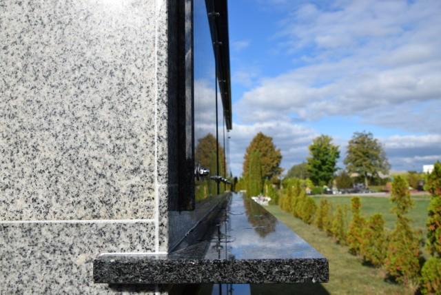 Tak wygląda gotowe kolumbarium na cmentarzu komunalnym w Sępólnie