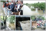 Tak wyglądała powódź we Włocławku w 2010 roku. Zalane Zawiśle, Donald Tusk i Bronisław Komorowski na tamie [archiwalne zdjęcia]