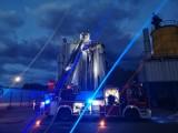Kolejny pożar w firmie produkującej asfalt pod Sątopami [FOTO]