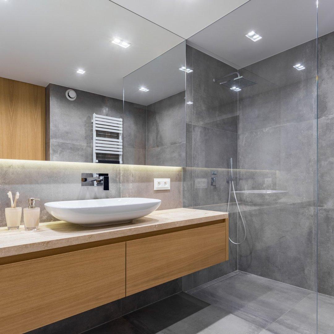 Szare Płytki W Nowoczesnych Aranżacjach łazienek Nie Bójcie Się