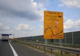Autostrada A1 Pyrzowice - Częstochowa: zakaz dla tirów powyżej 12 ton. Ciężkie auta w ogóle nie pojadą na północ w Pyrzowicach i Woźnikach