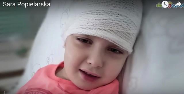 6-letnia Sara Popielarska 6 listopada powinna wylecieć na leczenie do Meksyku