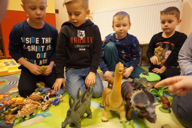Dzień Dinozaura 2017 u przedszkolaków z SP w Jastrzębiej Górze