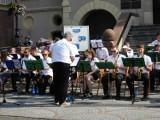 Energetyczny koncert Krotoszyńskiej Orkiestry Dętej i festyn na powitanie lata w Krotoszynie