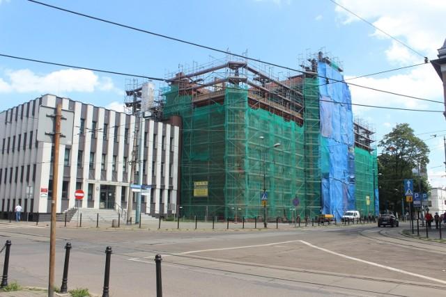 Budynek Ogólnokształcącej Szkoły Muzycznej w Bytomiu przechodzi remont. Zobacz zdjęcia >>>