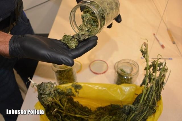 Policjanci z Krosna Odrzańskiego zatrzymali 25-latka, który przewoził narkotyki.