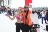W samym staniku na nartach? Tak bawią się Słowacy! [Zdjęcia]