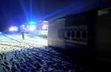 Groźny wypadek pod Wrocławiem. Autobus wiózł pracowników Amazona do pracy (ZDJĘCIA)