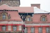 Dach Książa po pożarze prawie odbudowany