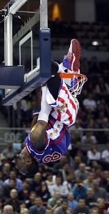 Koszykarskie show Harlem Globtrotters odbyło się w Ergo Arena (wideo i galeria)
