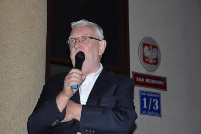 Jerzy Stępień w Łowiczu