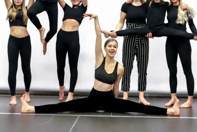 Angelika Zając z Borzęcina jest instruktorką tańca