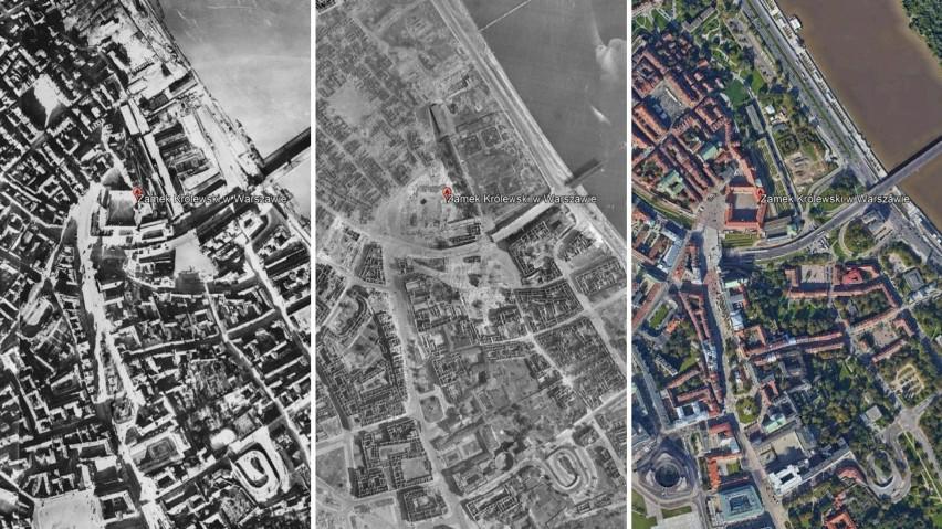 Polska z lotu ptaka. Niesamowite zdjęcia lotnicze sprzed 80 lat. Zobacz, jak zmieniły się miasta