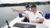 Łódź zatonęła na Zalewie Porajskim. Policja uratowała dwóch mężczyzn