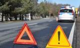 Wypadek nieopodal Niezabyszewa na krajowej 20. Zderzyły się trzy samochody