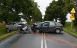 W Chabsku (gmina Mogilno) auta zderzyły się czołowo