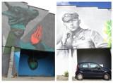 Nowy mural w Dębie w Katowicach. Powstaniec śląski zastąpił głowę byka ZDJĘCIA