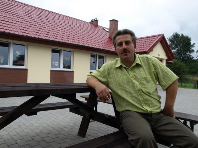 Dariusz Kuzemczak sołtysem Jerzkowic jest od 4 lat