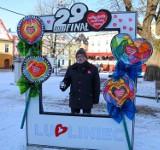 Walentynkowa foto ramka na rynku w Lublińcu. Co jeszcze czeka nas w ten weekend?