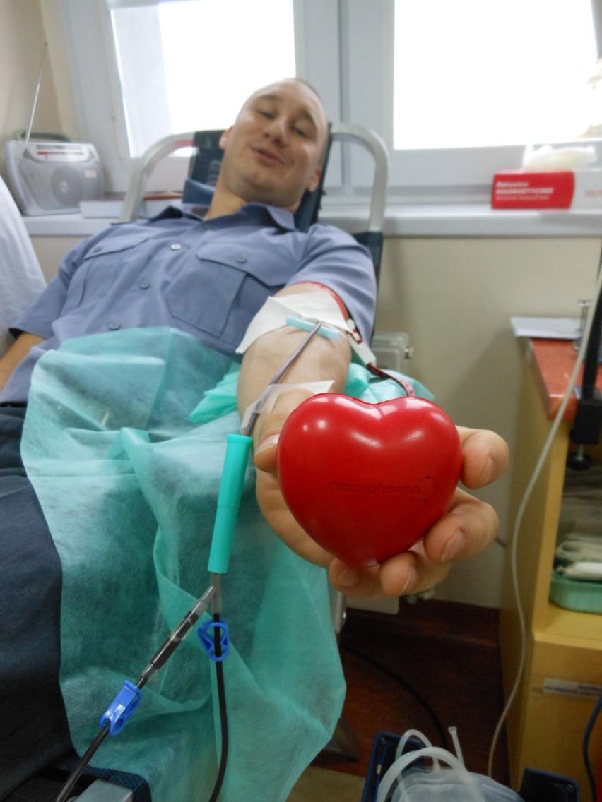 Sztum. Klub Honorowych Dawców Krwi w Zakładzie Karnym