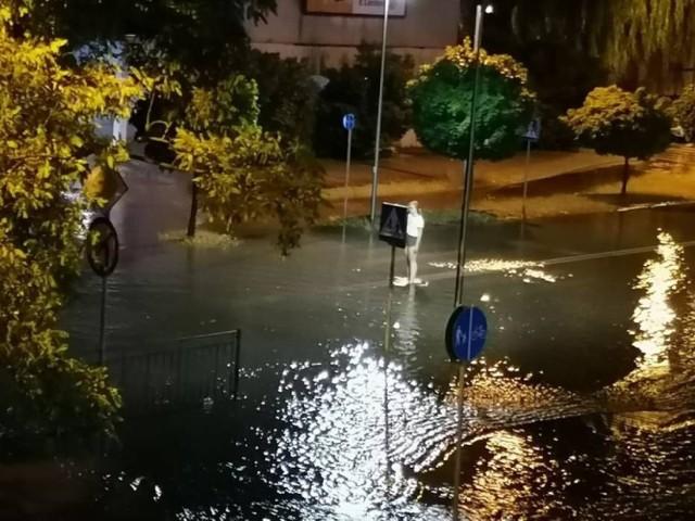 Szczególnie mocno padało w Oleśnicy