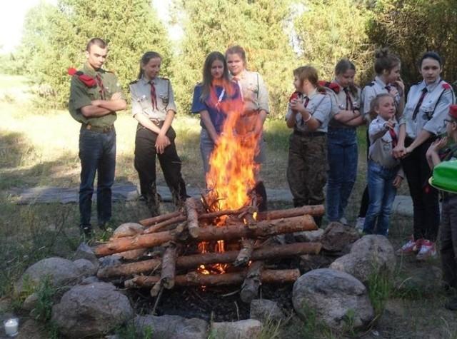 Uroczyste zebranie zuchów odbyło się w obozie ZHP Bielsk Podlaski w Doktorcach.