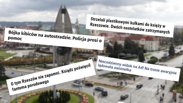 O tych newsach z Rzeszowa Polska nie zapomni. To prawdziwe hity Internetu!