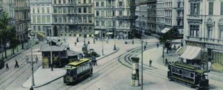 Tak wyglądał przed wojną wrocławski plac Legionów fot.  Muzeum Techniki i Przemysłu