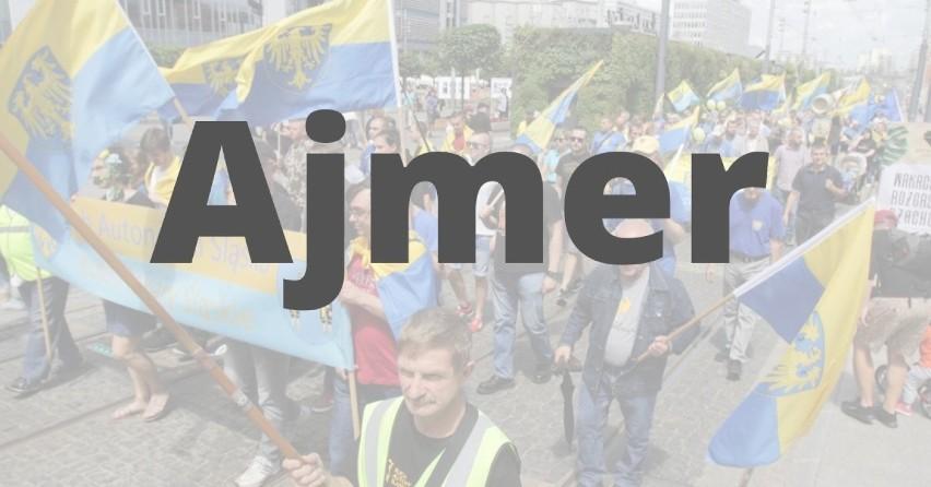"""AJMER - po polsku """"wiadro"""", po francusku """"kochać""""..."""