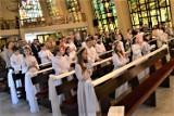 Pierwsza Komunia Święta w reżimie sanitarnym. Zdjęcia z kościoła p.w. św. Jerzego w Goleniowie