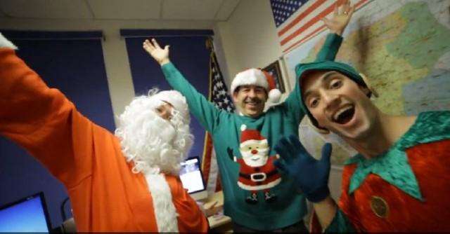 Święta w Ambasadzie USA