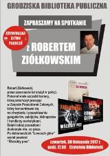 Grodzisk: spotkanie z autorem kryminałów
