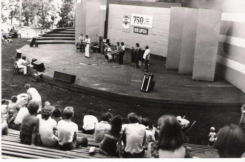 Amfiteatr w Krośnie Odrzańskim dawniej.