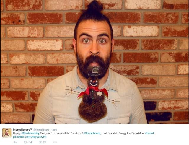 Mr. Incredibeard z bujnym zarostem robi cuda ze swoją brodą [zdjęcia]