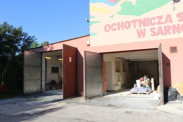 Budynek OSP w Sarnowie będzie odnowiony, a garaż pomieści nowy wóz ratowniczo-gaśniczy   Zobacz kolejne zdjęcia/plansze. Przesuwaj zdjęcia w prawo - naciśnij strzałkę lub przycisk NASTĘPNE